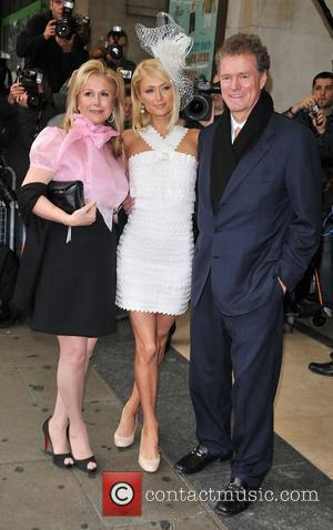 Paris Hilton, Kathy Hilton and Rick Hilton