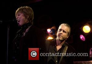 Pat Benatar and Neil Giraldo  perform at BB King's New York City, USA - 22.04.08