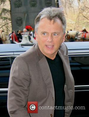 'Wheel of Fortune' host Pat Sajak arriving at his hotel New York City, USA - 08.04.08