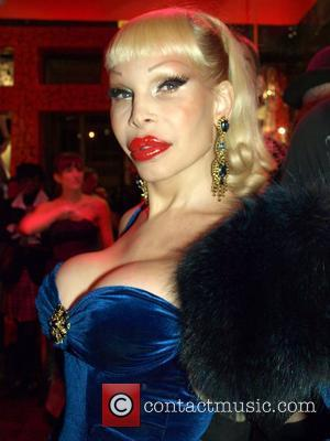 Amanda Lepore Party for Barbie by Patricia Field Holiday 2007 Collection at Patricia Field Boutique on Bowery. New York City,...