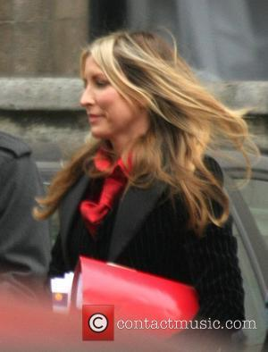 Heather Mills arriving at the High Court. It is day five of the divorce hearing between Heather and her ex...