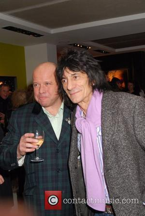 Ronnie Wood and Paul Karslake