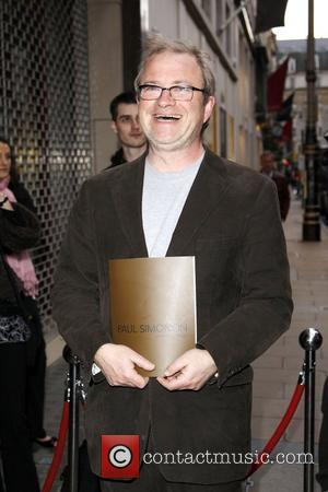 Harry Enfield Attending the Paul Simonon: New Paintings - private view - Arrivals London, England - 15.04.08
