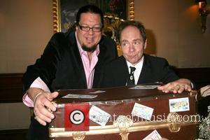 Penn Jillette and Raymond Teller Entertainment duo Penn and Teller celebrate Five Years of Magic at Rio Hotel and Casino...