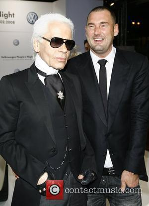 Karl Lagerfeld and Michael Michalsky
