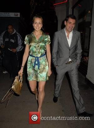 Lady Isabella Hervey,  The Perfume Shop/LK high street fashion awards at Caf� de Paris London, England - 14.05.07