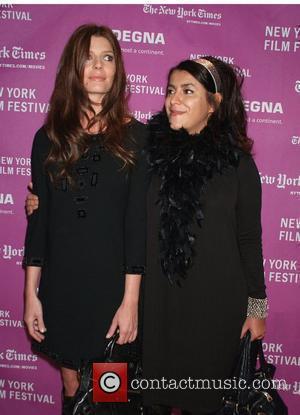 Chiara Mastroianni and Marjane Satrapi  New York Film Festival 2007, closing night, Premiere of