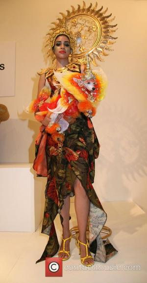Atmosphere Runway show for Pet Fashion Week New York. Pet Fashion Week is a tradeshow and a designer platform for...