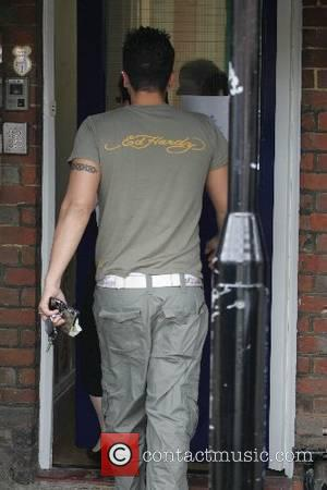 Peter Andre  visiting his two children in a day nursery West Sussex, England - 15.06.07