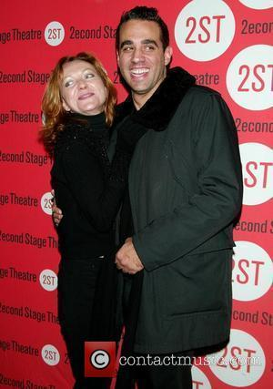 Julie White & Bobby Cannavale  Opening Night of Edward Albee's 'Peter and Jerry' at the Second Stage Theatre -...