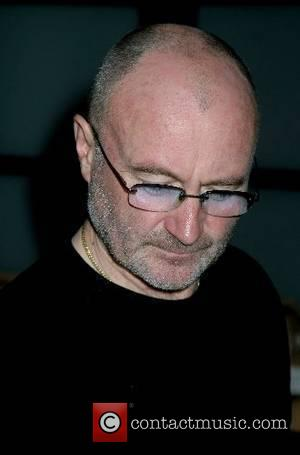 Phil Collins signing of Malcolm Farley's painting and giclees  to benefit Music Cares Foundation The Hotel at Mandalay Bay...