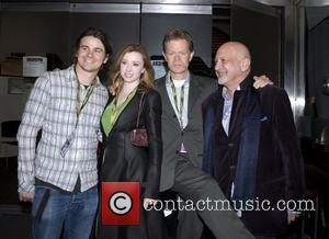 Jason Ritter, Fiona Glascott, William H. Macy and Thom Cardwell