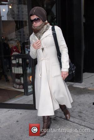 Singer Pink aka Alecia Moore leaving 'Silk Day Spa' after going out to lunch New York City, USA - 23.02.08