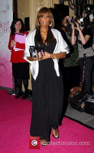 Shaznay Lewis The Pink Ice Ball held at the Waldorf Hilton Hotel London, England - 05.10.07