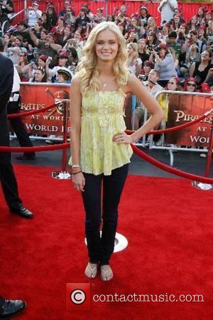 Sara Paxton World Premiere of Walt Disney Pictures 'Pirates Of The Caribbean: At World's End' held at Disneyland Park Anaheim,...