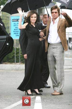 Brad Pitt, Santa Monica Pier, Angelina Jolie