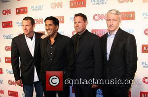 Lance Armstrong, Dr. Sanjay Gupta, Jeff Corwin and Anderson Cooper
