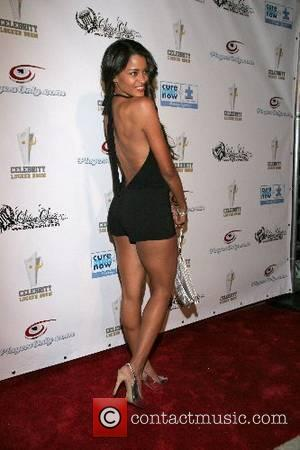 Claudia Jordan 2nd Annual All Star Night at the Playboy Mansion, hosted by Celebrity Locker Room, benefiting the Cure Autism...