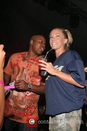 Too Short and Kendra Wilkinson 2nd Annual All Star Night at the Playboy Mansion, hosted by Celebrity Locker Room, benefiting...
