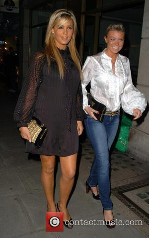 Danielle Lloyd Playboy London Flagship Store opening party at 'Sketch' London, England - 27.09.07