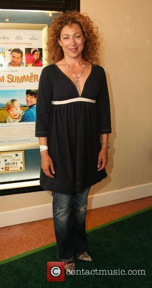 Alex Kingston,  Premiere of 'A Plumm Summer' at the Mann Bruin Theater - Arrivals Westwood, California - 20.04.08