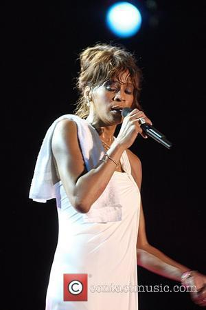 Whitney Houston performing at the Plymouth Jazz Festival 2008 Tobago, West Indies - 26.04.08