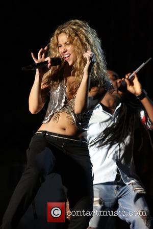 Student Shakira Blends In