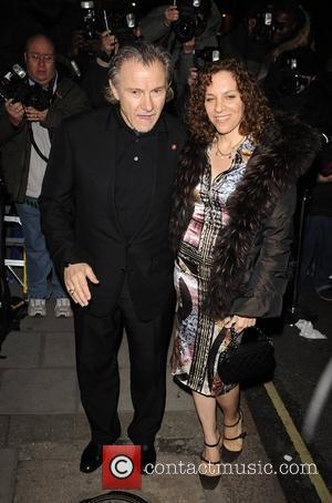 Harvey Keitel and Guest Finch & Partners' Pre-BAFTA Party held at Mark's Club -- Arrivals London, England - 09.02.08