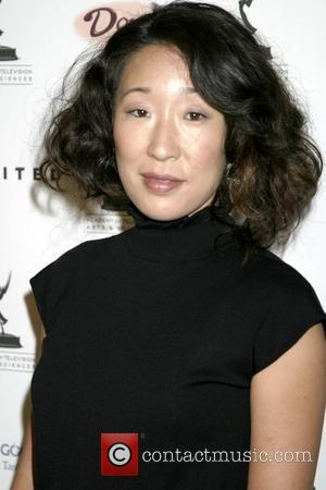 Sandra Oh 59th Annual Emmy Awards - Nominee Reception at the Wolfgang Puck at Pacific Design Center West Hollywood, California...