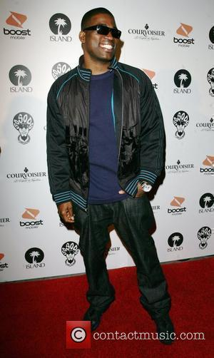 David Banner arriving at a Pre Grammy party at Contact Hollywood, California - 08.02.08