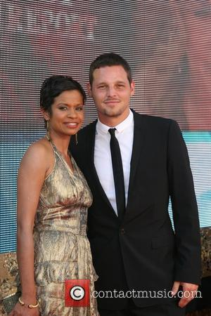 Justin Chambers and Guest The 59th Primetime Emmy Awards at The Shrine Auditorium  Los Angeles, California - 16.09.07