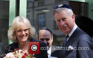 Prince Charles, Prince Of Wales, Wearing A Jewish Yarmulka, Camilla and Duchess Of Cornwall Open The Krakow Jewish Community Centre