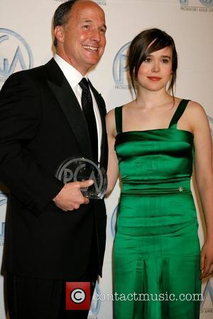 Brad Lewis and Ellen Page