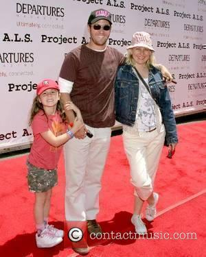 Rob Morrow, Debbon Ayer and daughter Tu Simone Ayer Morrow Project A.L.S Los Angeles Benefit 2007 held at Paramount Studios...