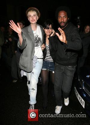 Agyness Deyn and Lily Allen