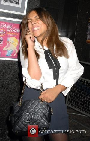 Miquita Oliver leaving Punk nightclub London, England - 27.09.07