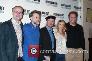 David Grindley, Boyd Gaines, Jefferson Mays, Claire Danes and Jay O. Sanders Broadway production of Pygmalion - photocall at American...