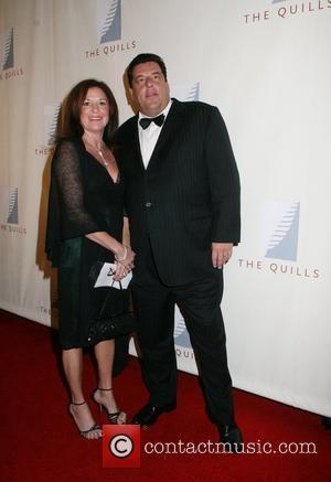 Steve Schirripa and wife 3rd Annual Quill Awards New York City, USA - 22.10.07