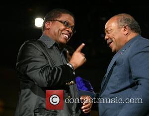 Herbie Hancock and Quincy Jones
