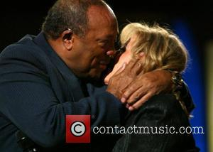 Quincy Jones and Lesley Gore