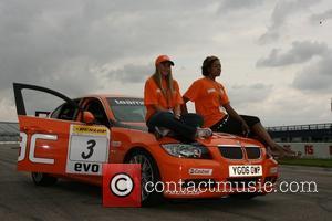 Michelle Heaton and Antonio Okonma