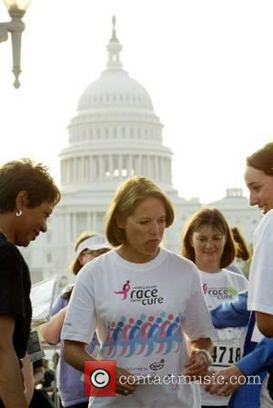 Katie Couric was the guest speaker at Susan G Komen race for the Cure. She was late to arrive. The...