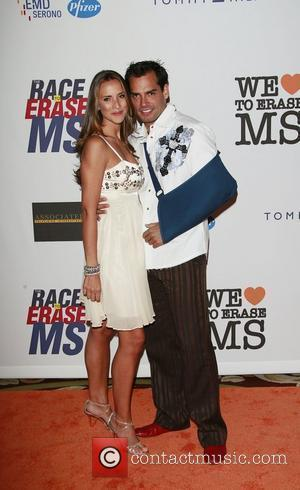 Cristian De La Fuente and Angelica Castro The 15th Annual Race to Erase MS Gala Century City, California - 02.05.08