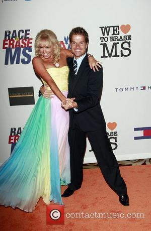 Louis Van Amstel and Kym Johnson The 15th Annual Race to Erase MS Gala Century City, California - 02.05.08