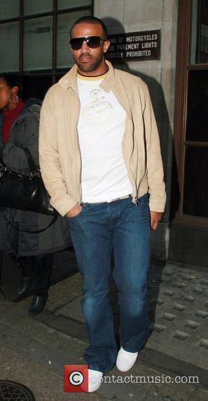 Craig David Leaving BBC Radio 1 studios London, England - 11.02.08
