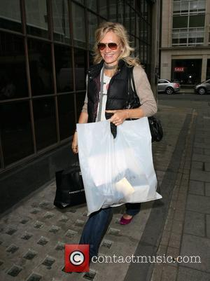 Jo Whiley arriving at the BBC Radio 1 Studios to present her radio show London, England - 05.09.07