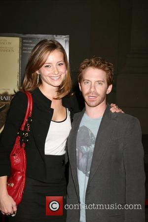 Candice Bailey and Seth Green