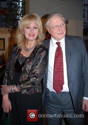 Joanna Lumley and Sir David Attenborough