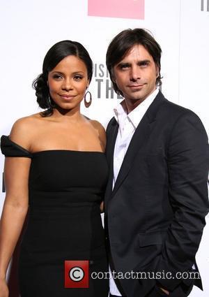 Sanaa Lathan and John Stamos