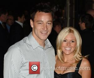 John Terry and Toni Poole UK Film Premiere of 'Rambo' - Arrivals held at Vue West End  London, England...